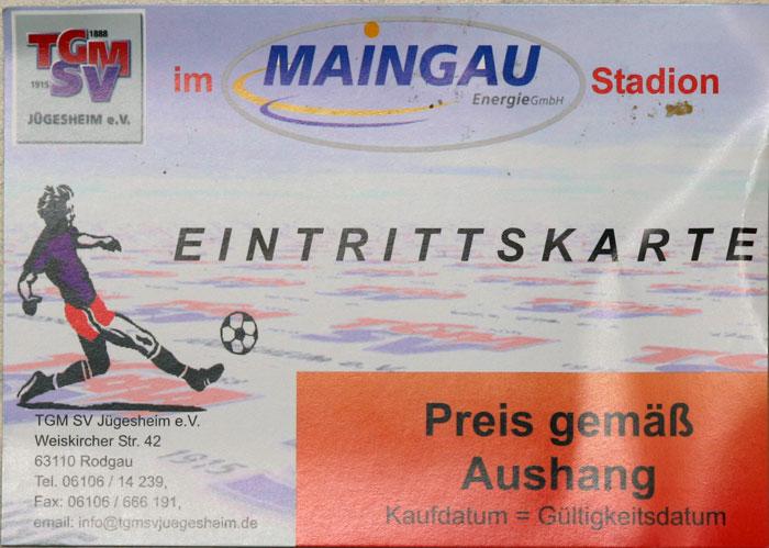 J�gesheim, Maingau Energie Stadion