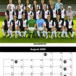 Kalenderblatt August 2008